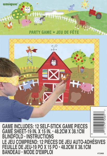 Farm Party Game For 12